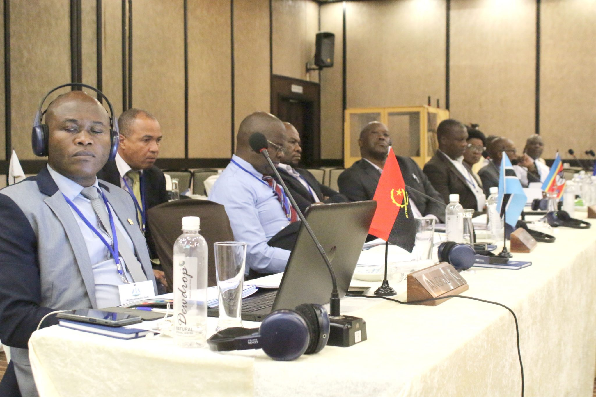 The Ausc Region 5 Council Of Ministers  Meeting, Maseru Lesotho 2019